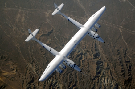 Photo Credit, Michael Fuchs. Image presented here with permission from Virgin Galactic