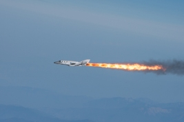 Photo Credit, Michael Fuchs. Image presented here with permission from Virgin Galactic.